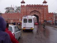 An old city gate
