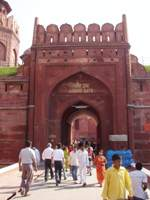 Gate to the Red Fort