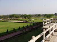 Beautiful Red Fort gardens