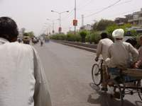 Cycle rickshaw through Amritsar