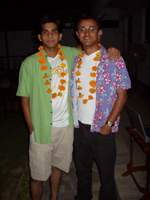 Rishep, Rahul as Hawaiians