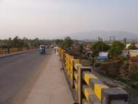 Road from Pinjore to Panchkula