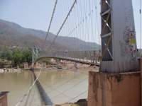 Shivanand Jhula suspension bridge