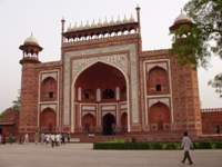 Main Gate to Taj Mahal