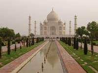 Taj Mahal in its full beauty