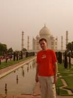 Stefan at Taj Mahal