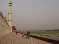 River view to Agra
