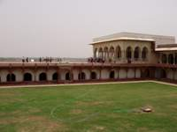 In Agra Fort