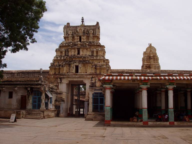 Virupaksha Temple in Hampi, Karnataka
