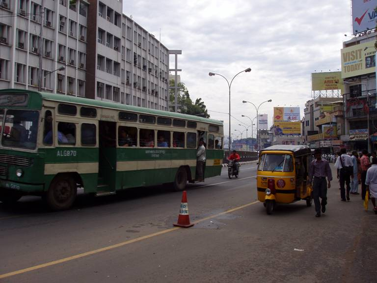 Chennai, Anna Salai (north view)