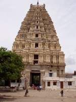 Virupaksha Temple (main entrance from inside)