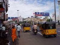 Chennai, Anna Salai (south view)