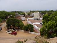 View down to Mamallapuram