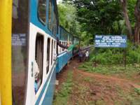 Blue Mountain Railway from Mettupalayam to Ooty